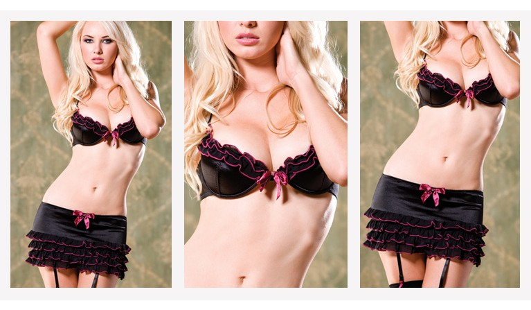 Soutien Push-Up Leticia 32B 34B 36B 12.90€ | Cinto de Ligas 7.90€