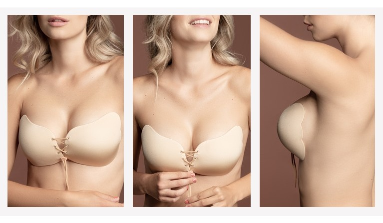 Soutien Invisível Push-up Nude