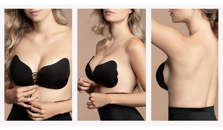 Soutien Invisível Push-up Preto